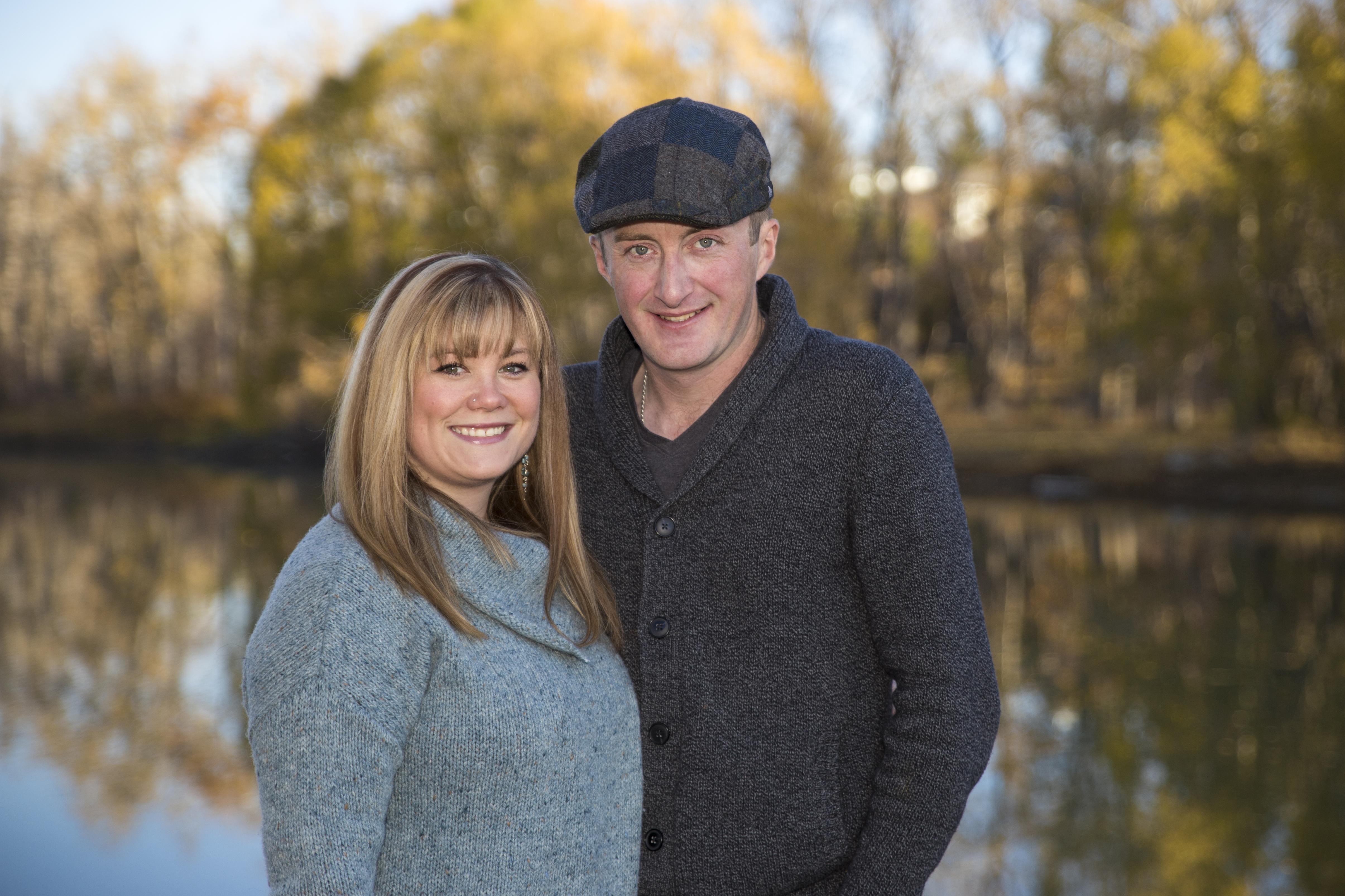 James & Christine 1