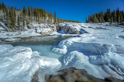 Frozen Elbow Falls