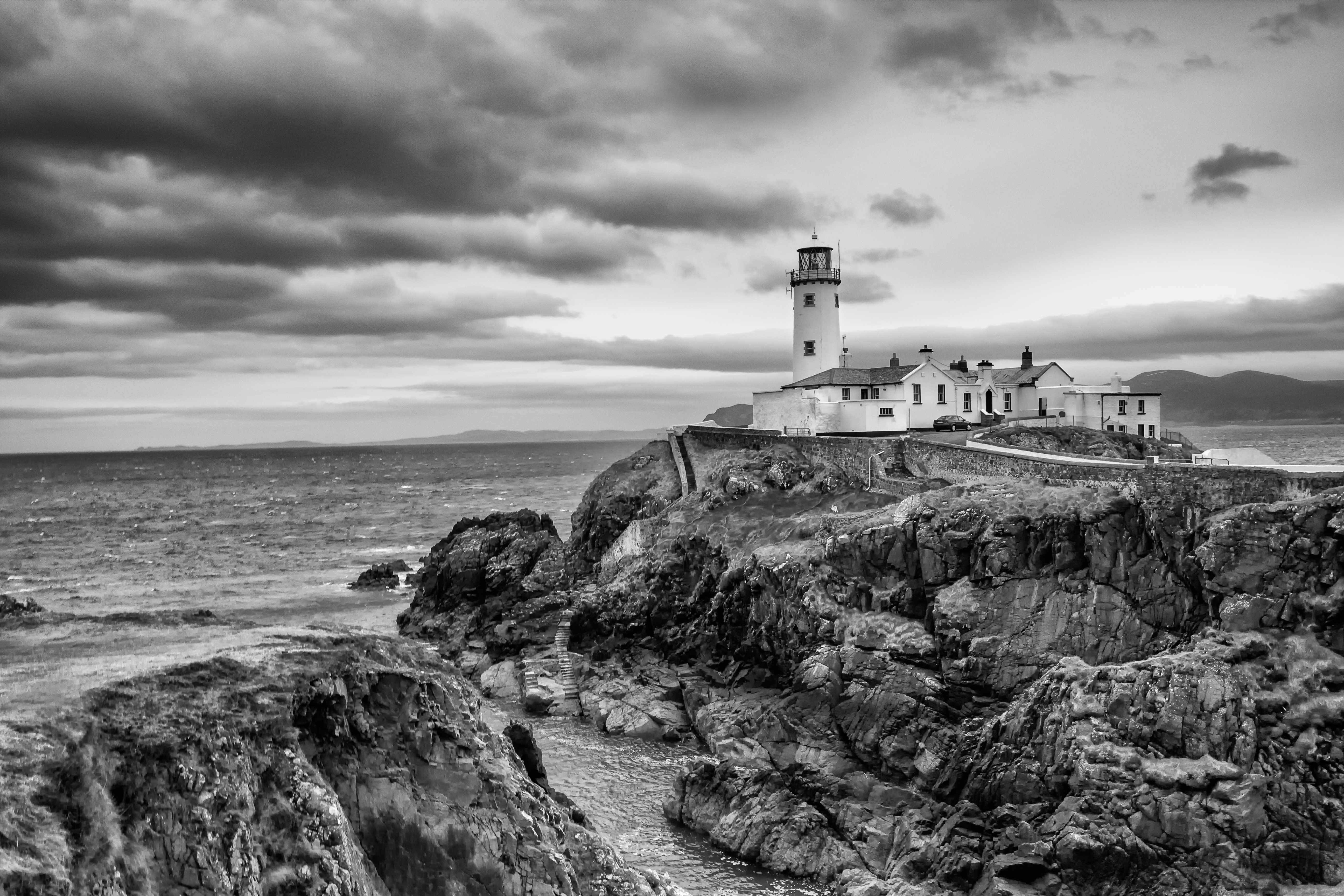 Fanad Lighthouse in Mono