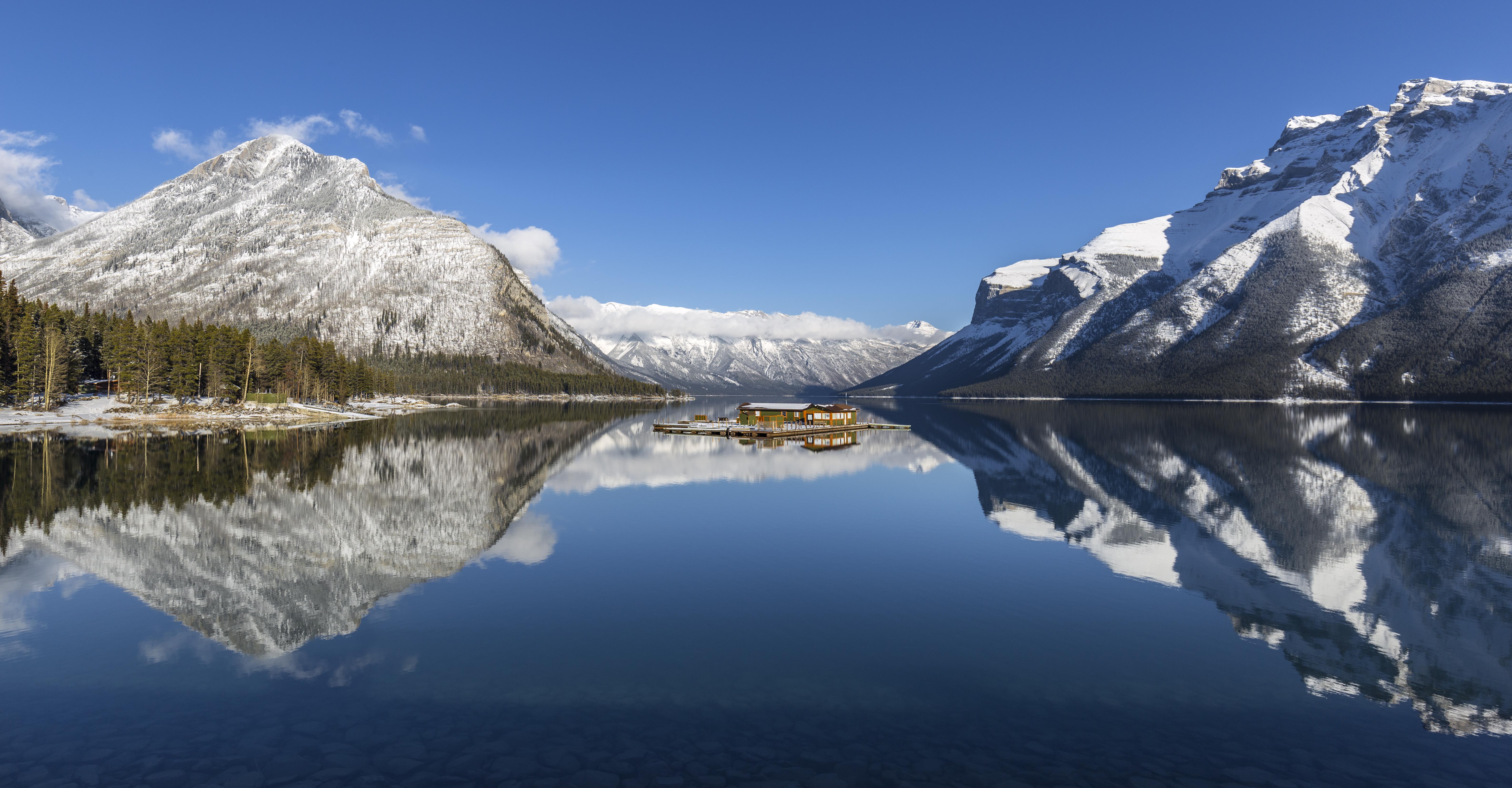 Lake boat launch
