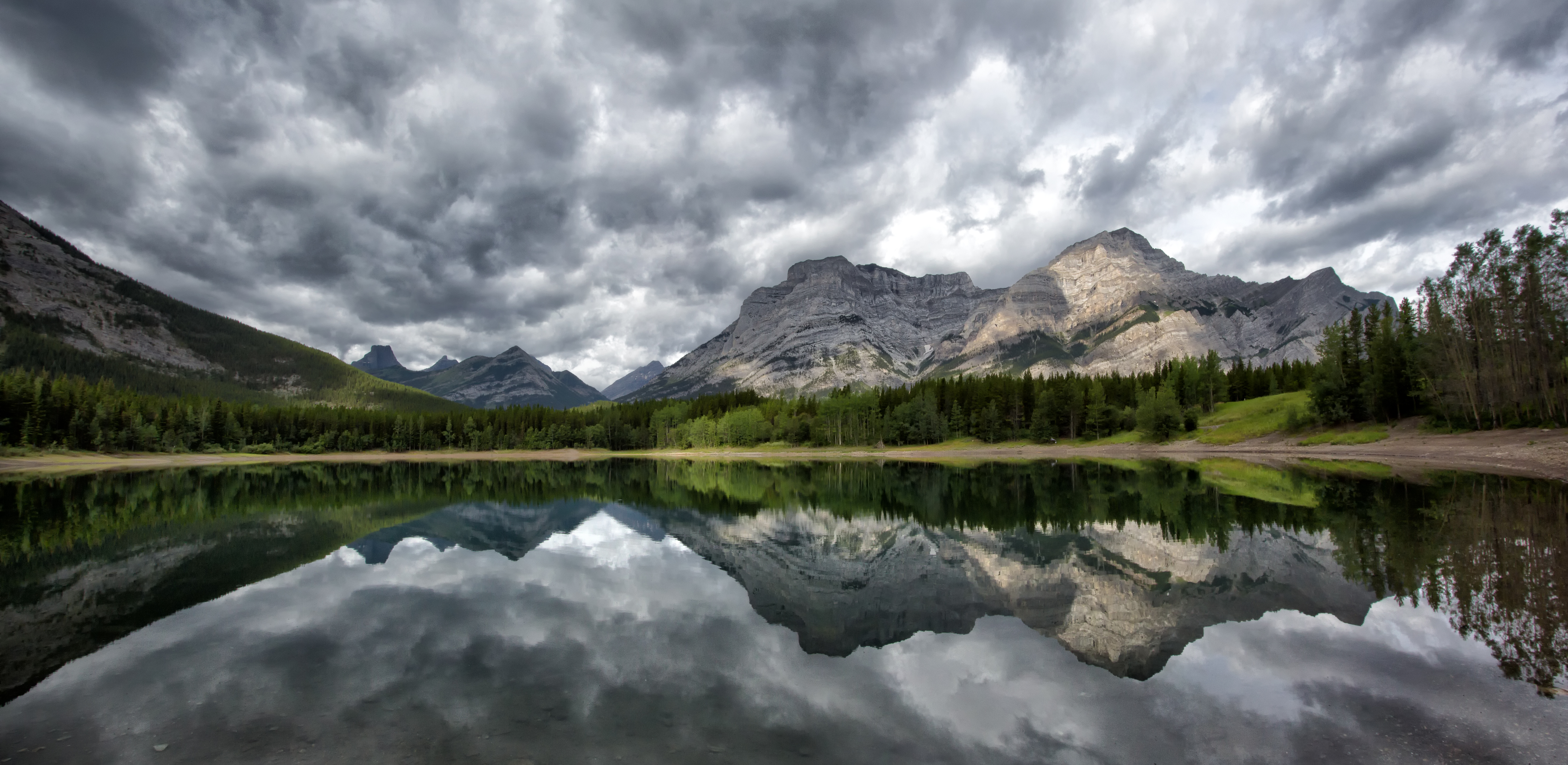 Storm Clouds on Wedge pond