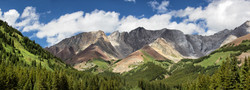 Mountains of Colour Panorama