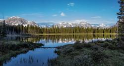 Spray lakes beauty