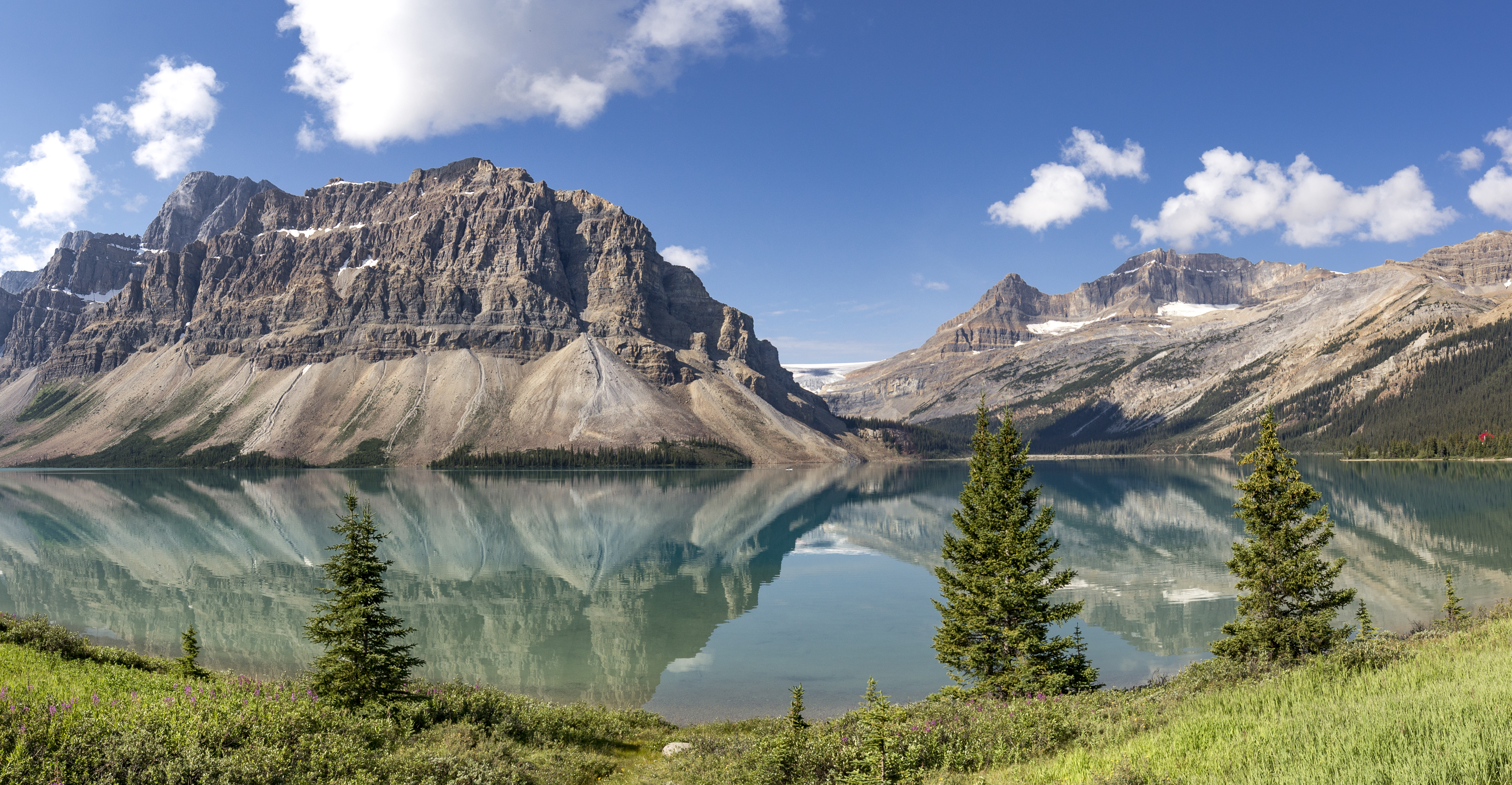 Bow Lake Panorama