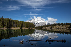 Cascade Mountain Reflections