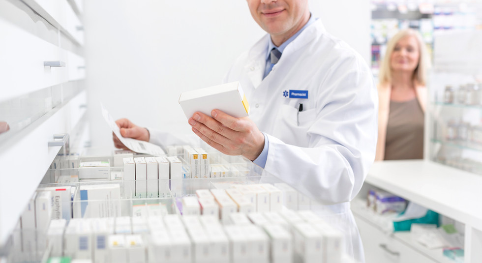 Pharmacist Looking For Prescription
