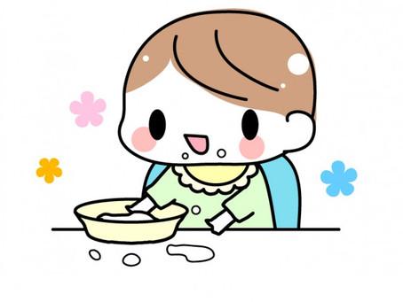 初めての離乳食(・@・)