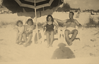 Sanchez family on Siesta circa 1950's