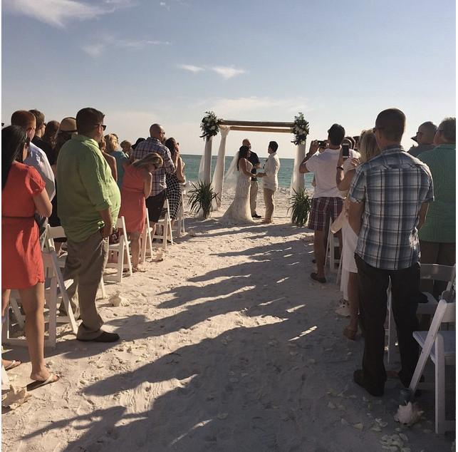 Siesta Key, Sunset Beach Resort, Florida, Weddings