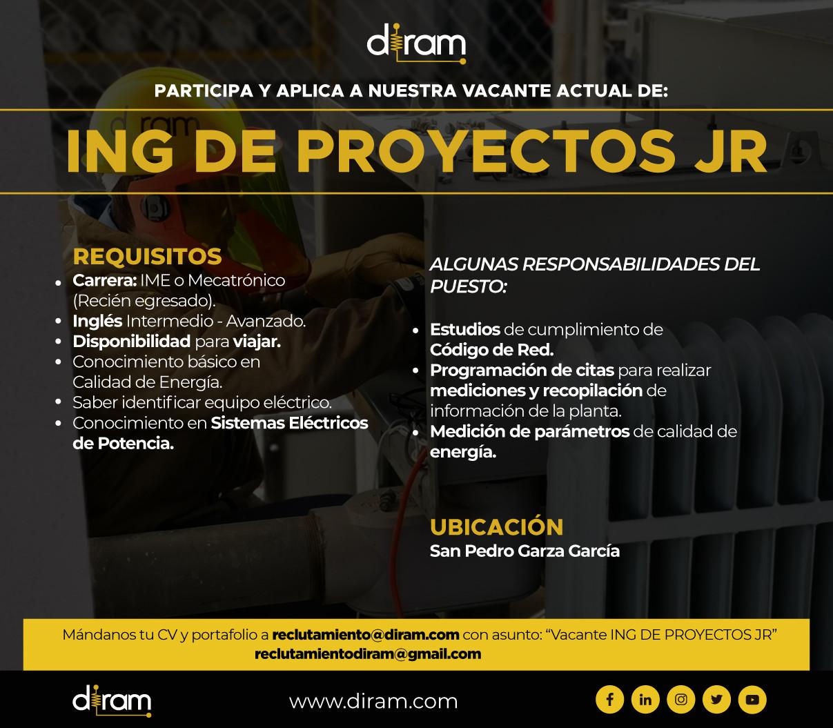 Ing. Proyectos Jr