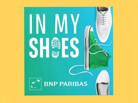 """Invitée du podcast """"In My Shoes"""" sur l'égalité hommes-femmes"""