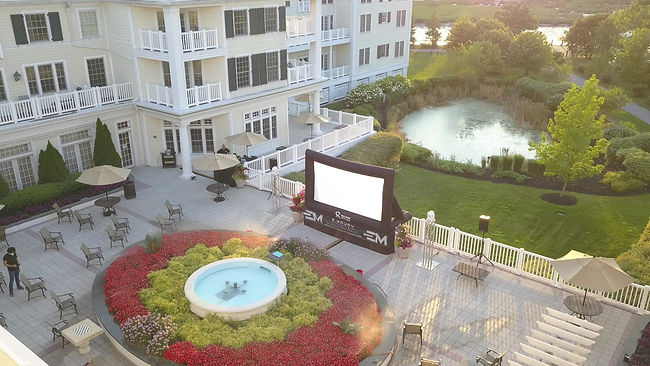 outdoor movie rentals nyc and long island