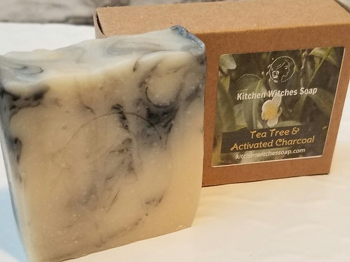 Tea Tree with Activated Charcoal