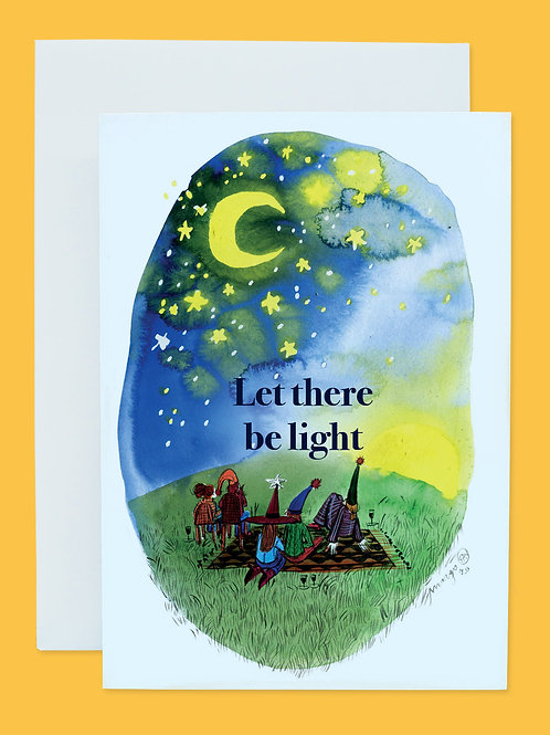 Let there be light - Holiday Card