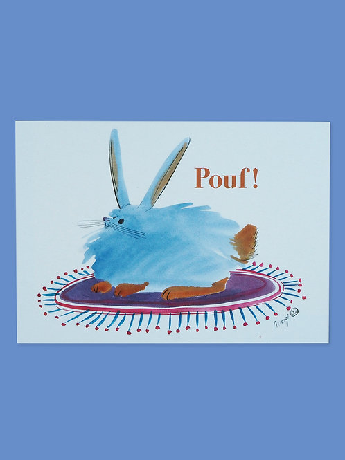 Pouf! - Postcard