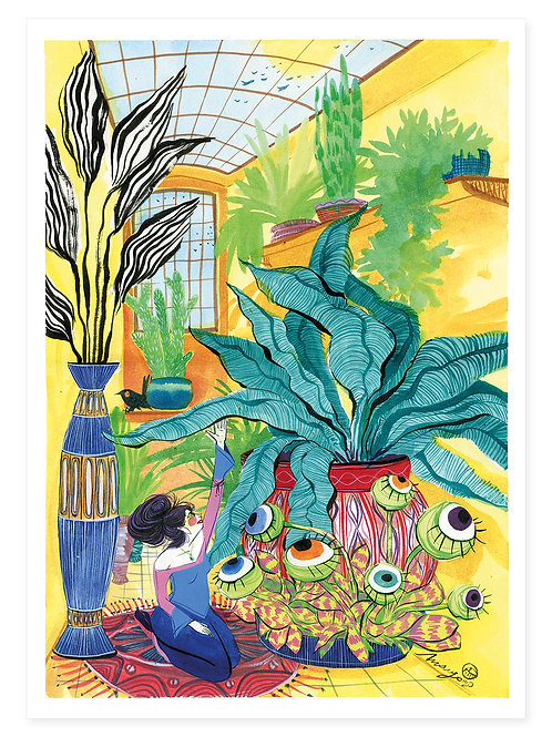 Greenhouse Dream - Print A2