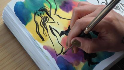 Sketchbook Process
