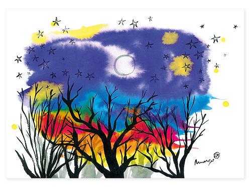 Winter Night - Print A3