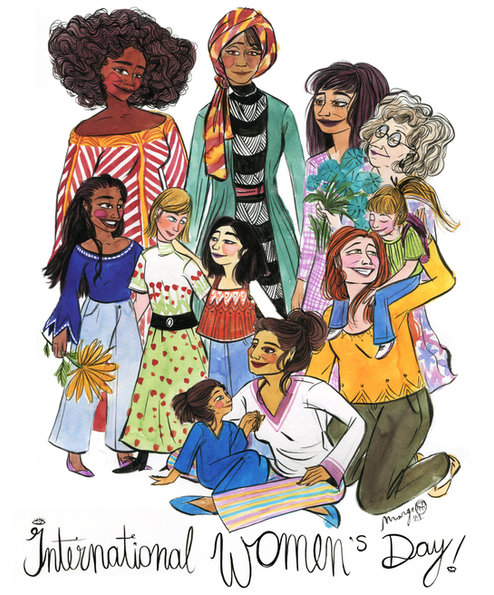 nternational women's day