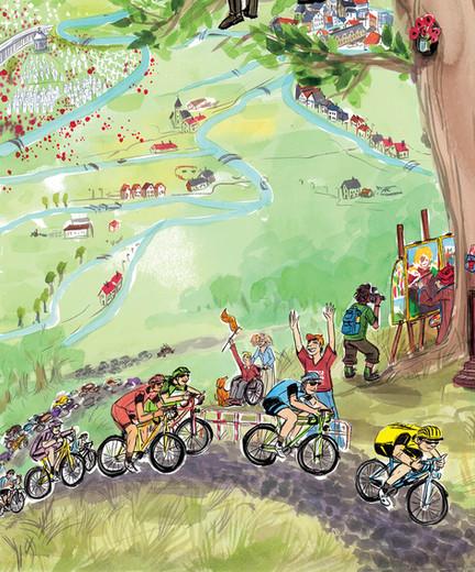 Poster VISITFLANDERS detail