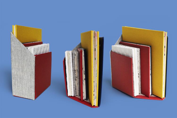 Leporello booklets case