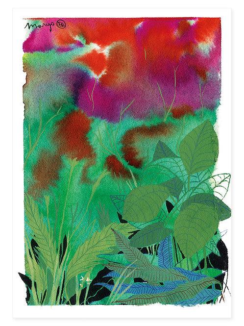 Leaves - Print A4