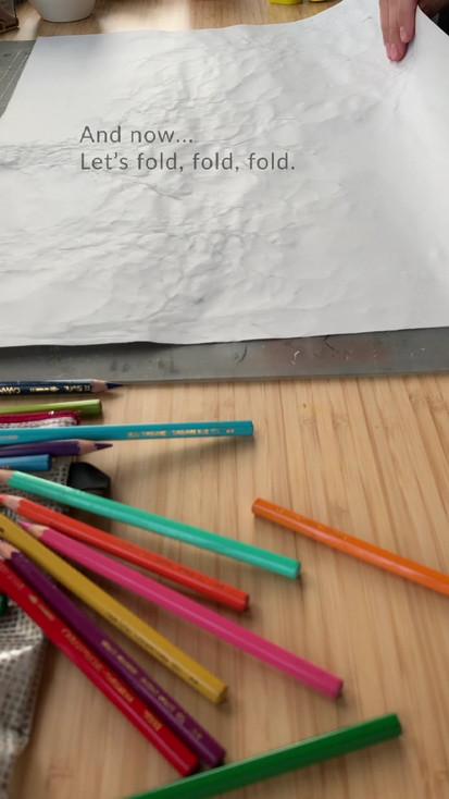 Doodle booklet Process