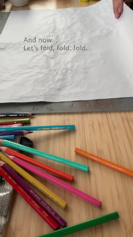 Process video - Doodle booklet