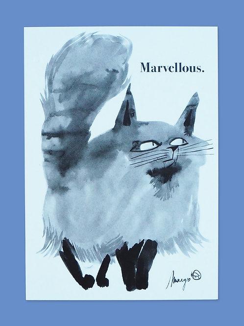 Marvellous - Postcard