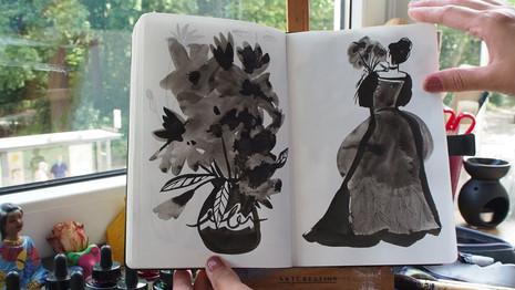 Sketchbook March - July 2020
