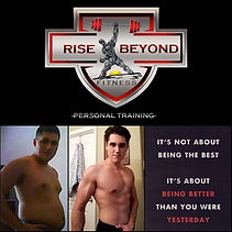Rise Beyond Your Limits ._#RiseBeyondFit