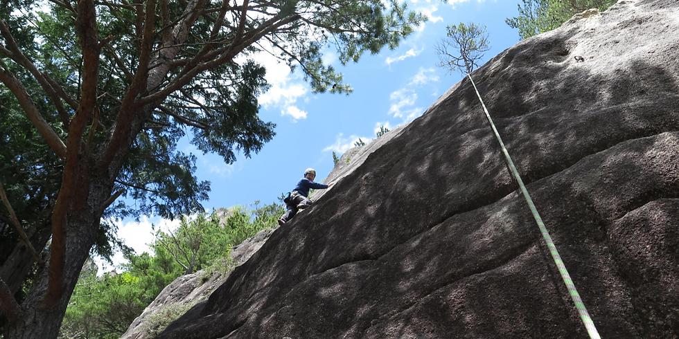 〈外岩講習〉6/15-16(土,日)小川山クライミング講習と「セルフケア特別講座」