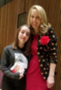 Brenda Greggio with Sarah McKenzie