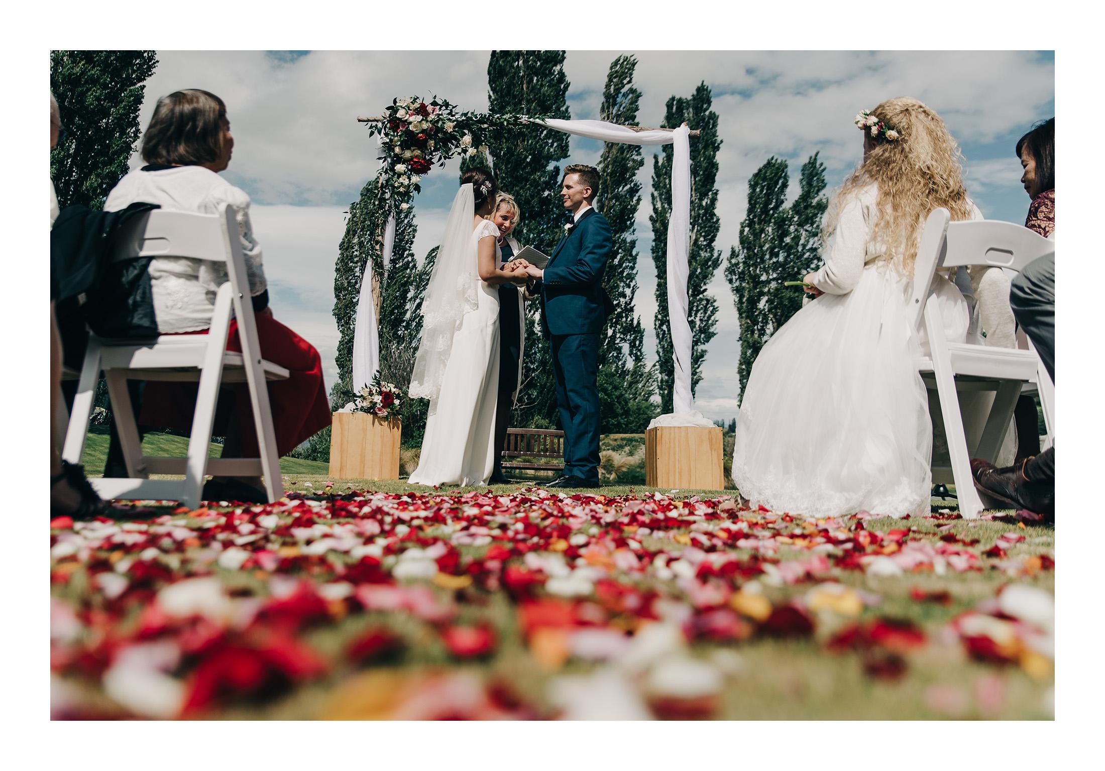 Zyrene + Richard - Edgewater Wedding