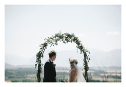 Nadia + Pete - Criffel Woolshed