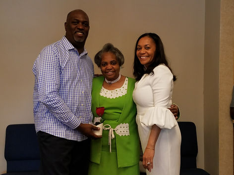 Pastor Del. Dr E Laquilla Phillips, 1st Lady Aliena