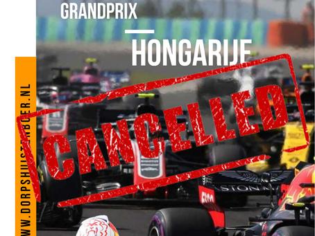 Geen F1 live op 19 Juli!