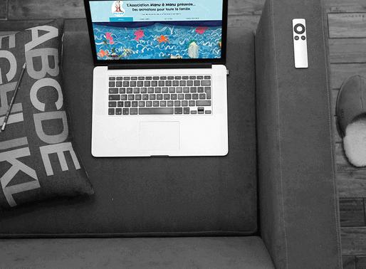 Agence Web Lacky : Création du site Manu à Manu