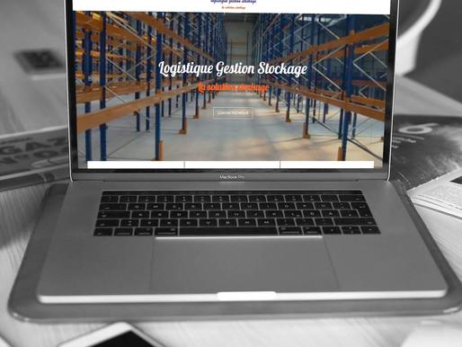 """Création du site """" Logistique Gestion Stockage """""""