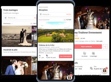 création mariage par lacky agence web marseille