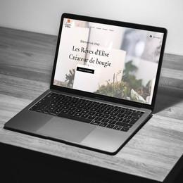 Les Rêves d'Élise - Création de site web