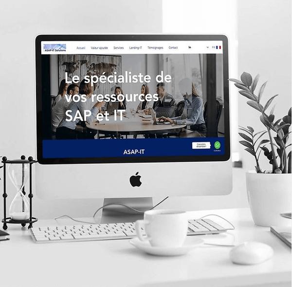 Asap-It - Création de site web