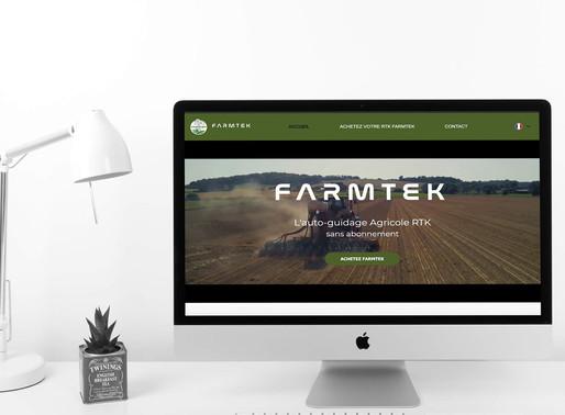 Création de site pour FARMTEK