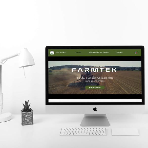 Farmtek - Création de site web