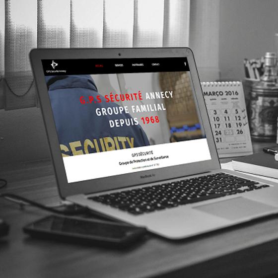 G.P.S Sécurité - Refonte de site web