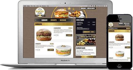site web internet restaurants par Lacky Agence Web Marseille