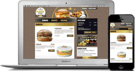 site web internet restaurants par Lacky Agence Web Marseille