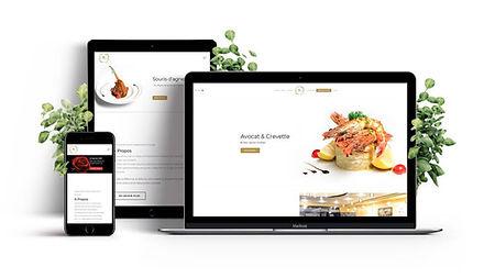 creation web site restaurants par Lacky Agence Web Marseille