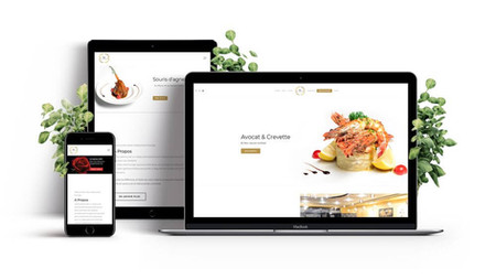 creation web site restaurants par Lacky Agence Web Marseille