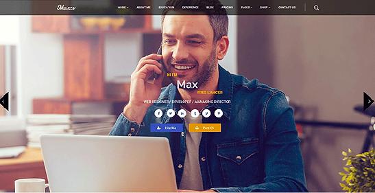 creation site web internet cv par lacky agence web marseille